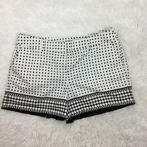 Loft Outlet polka dot shorts size 8